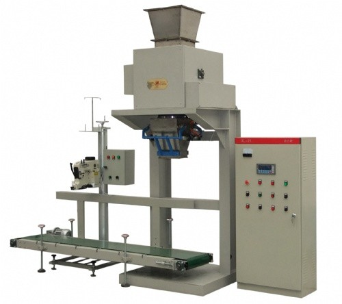 Pneumatic Plastic PVC Granular Packing Machine 200 bags / hour; Pellet Packing Machine