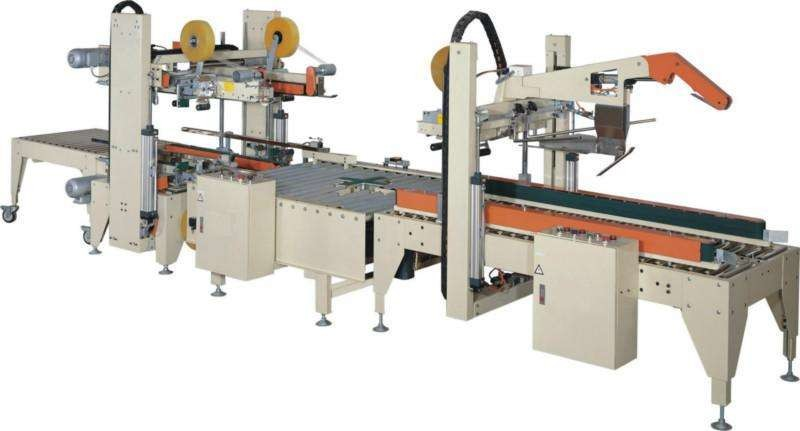High Speed Carton Sealing Machine , Fully Automatic Carton Edge Sealer CE